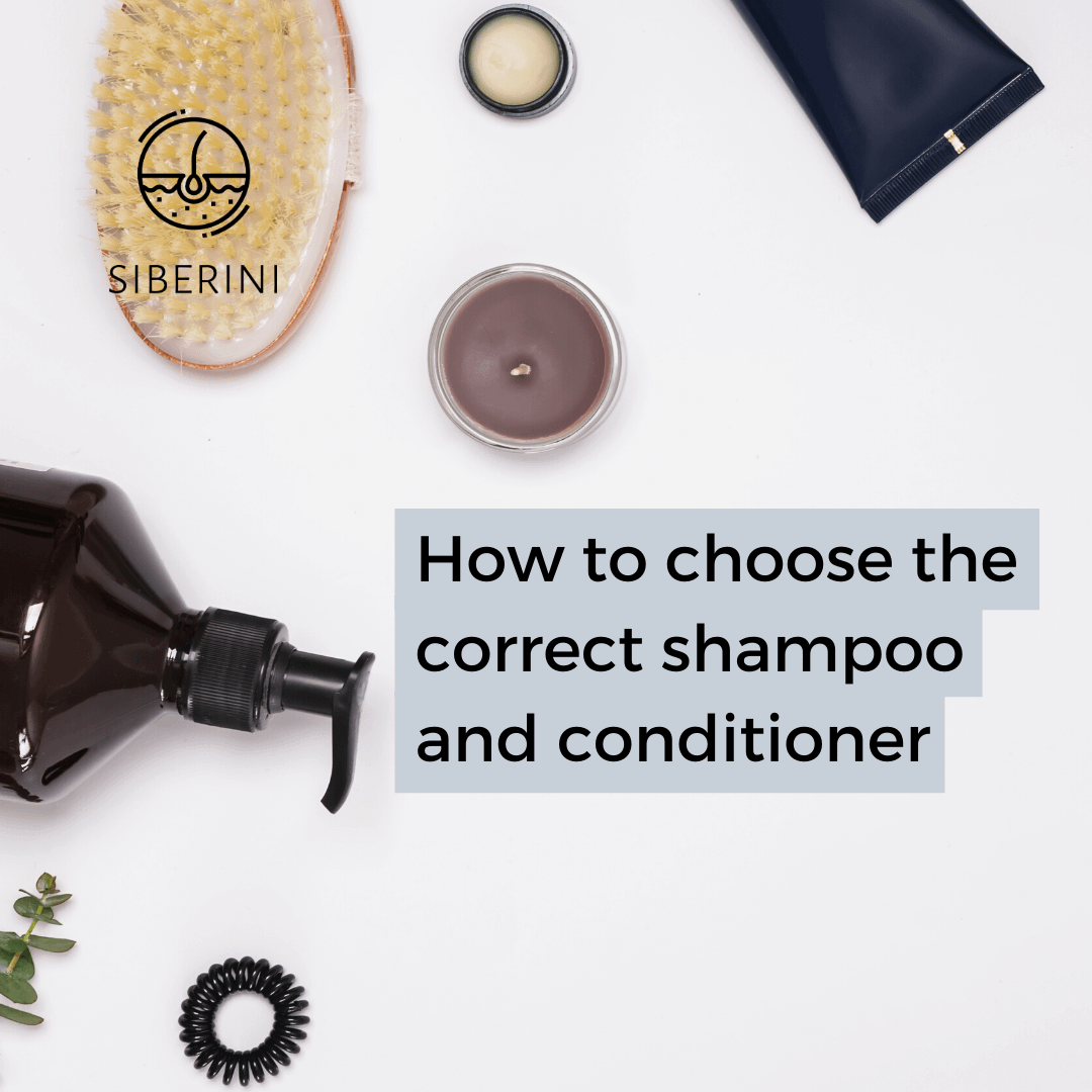 How to choose the correct shampoo and conditioner