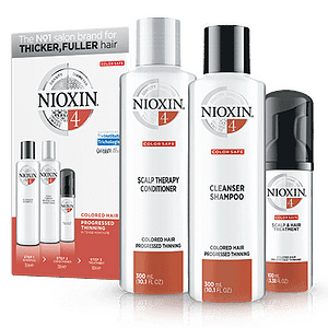Nioxin System 4: 3 part system