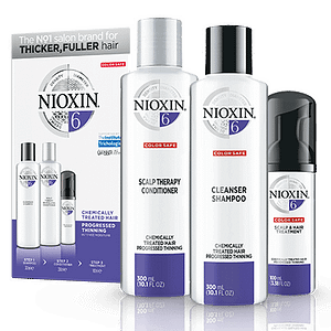 Nioxin System 6: 3 part system